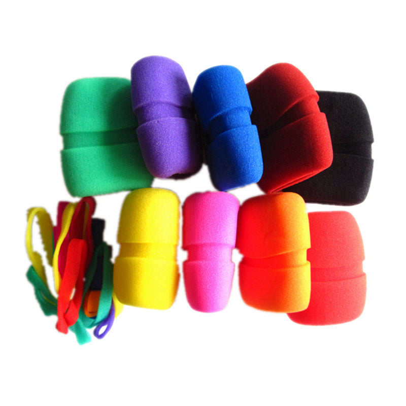Multicolor Microphone Windscreen Foam Grille Color Wheel Cover Sponge Concave Ring for Sennheiser
