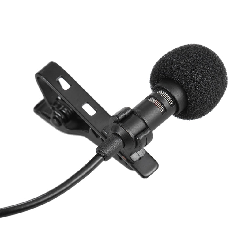Portable Mini Clip-on Omni-Directional Stereo USB Mic Microphone for PC Computer 150cm