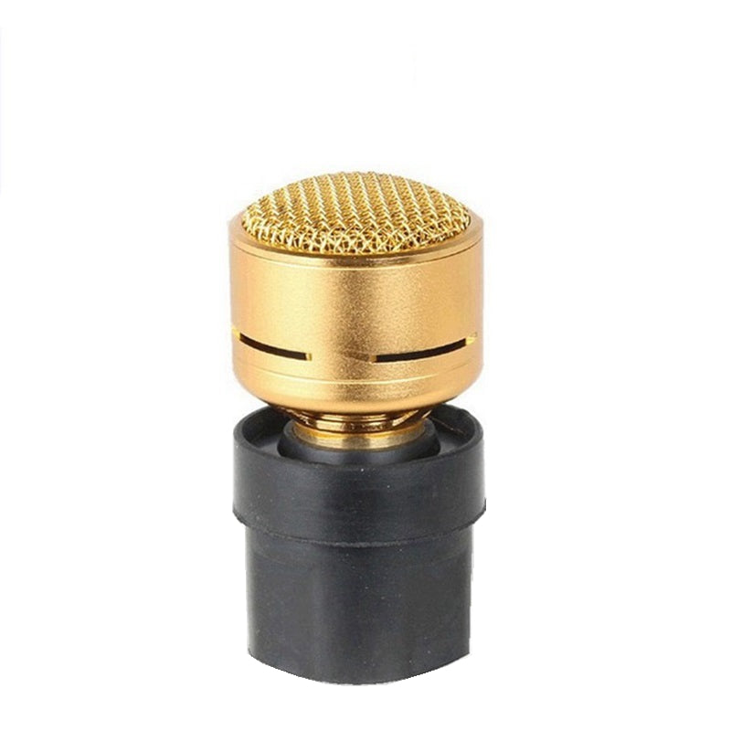 Pro KTV Wireless Microphone Capsules Element for Dynamic Wired Mic Grille Head N-M182
