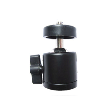 Mini Metal 360 degree Swivel Camera Tripod Ball Head with 1/4