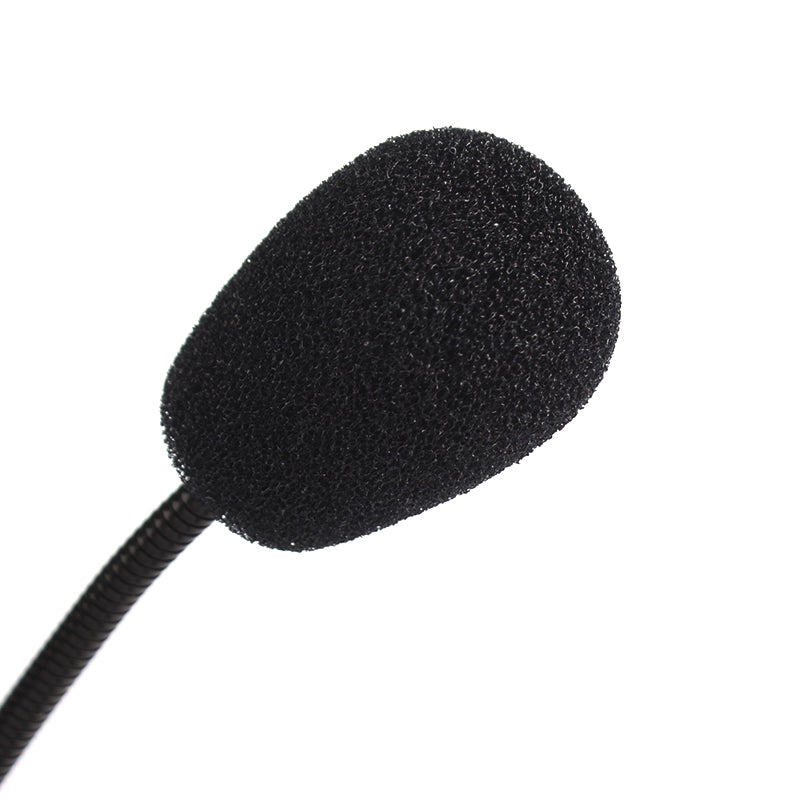 Mini Studio Speech PC Microphone 3.5mm Plug Gooseneck Mic Wired Microphone for Computer Desktop Notebook Flexible Stand