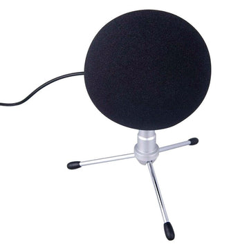 Microphone Foam Pad Windshield Artifical Fur Windscreen Wind Cover Muff for Blue Snowball Mic Part