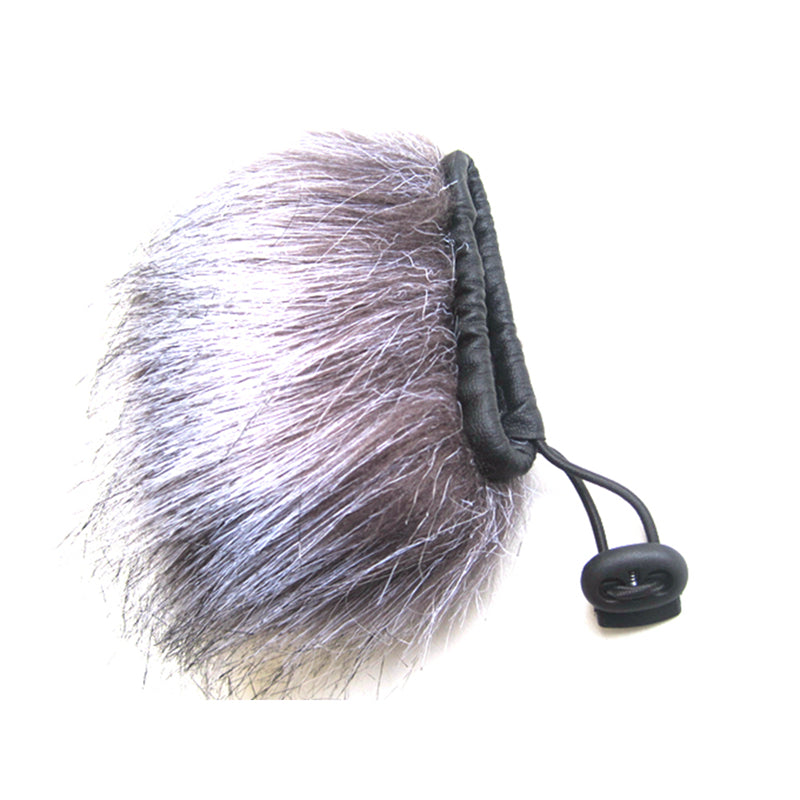 Microphone Fur Muff Windscreen for Zoom H2 H4 DR100 D50 Alesis Roland Handheld Portable Recorder Mobile