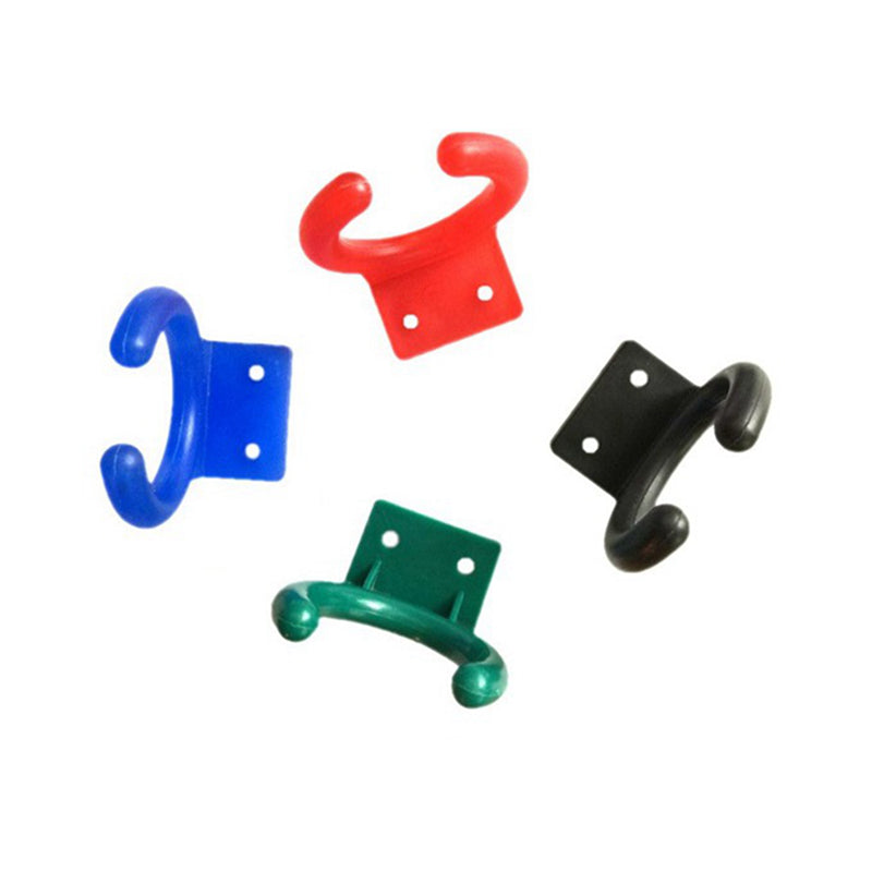 Microphone Holder Wall Mount Type Clip Clamp Plastic Stands Hanger Multicolor Pro New Bulk PC