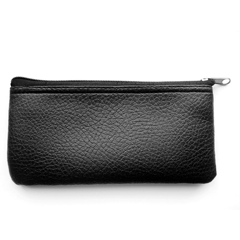 Microphone Leatherette Zippered Case Bag Pouch Dynamic Condenser Shotgun for Many 20X9