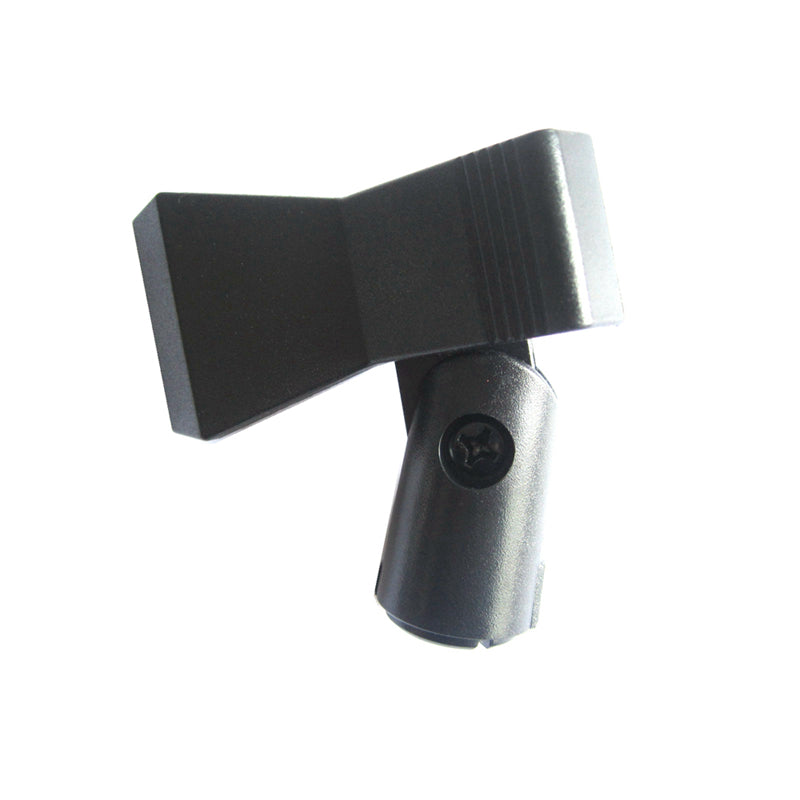 Microphone Spring Butterfly Clip Stand Mount Clamp Gear Clip-Type Holder Adapter Clothes-pin Handheld Adjustable Studio KTV