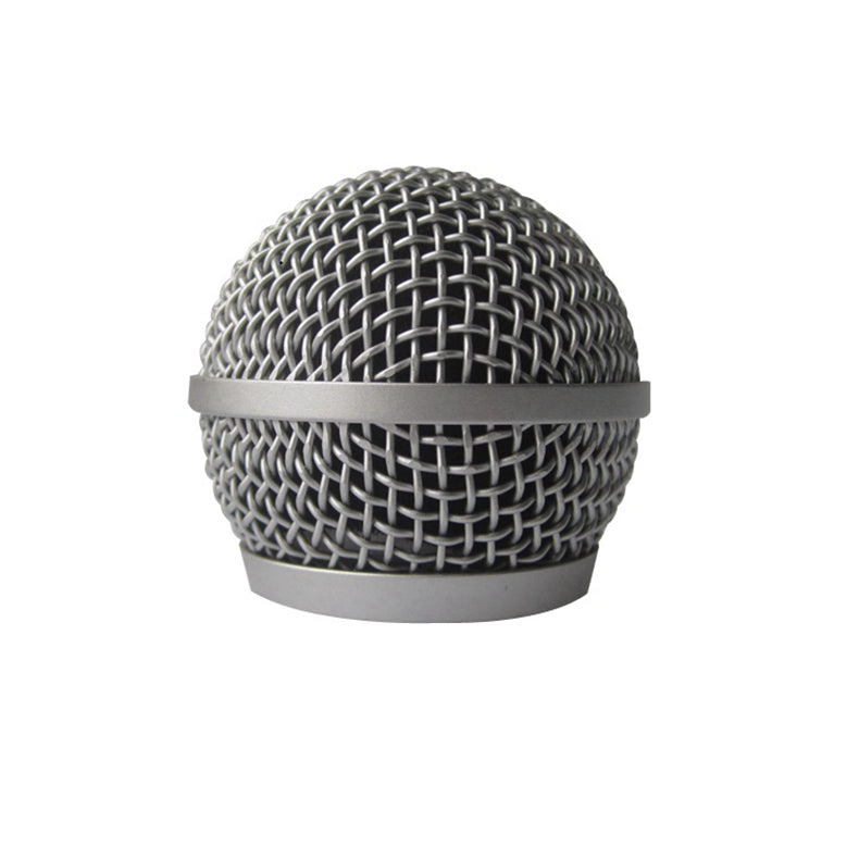 Microphone Ball Head Mesh Grille for SM58 BETA58 SM58LC SA-M30 SV100 UT2 Replacement Screen KTV Handheld Wireless PGX24 SLX4