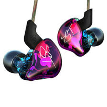 KZ ZST Colorful BA+DD In Ear Earphone Hybrid Headset HIFI Bass Noise Cancelling Earbuds With Mic Replaced Cable ZSN