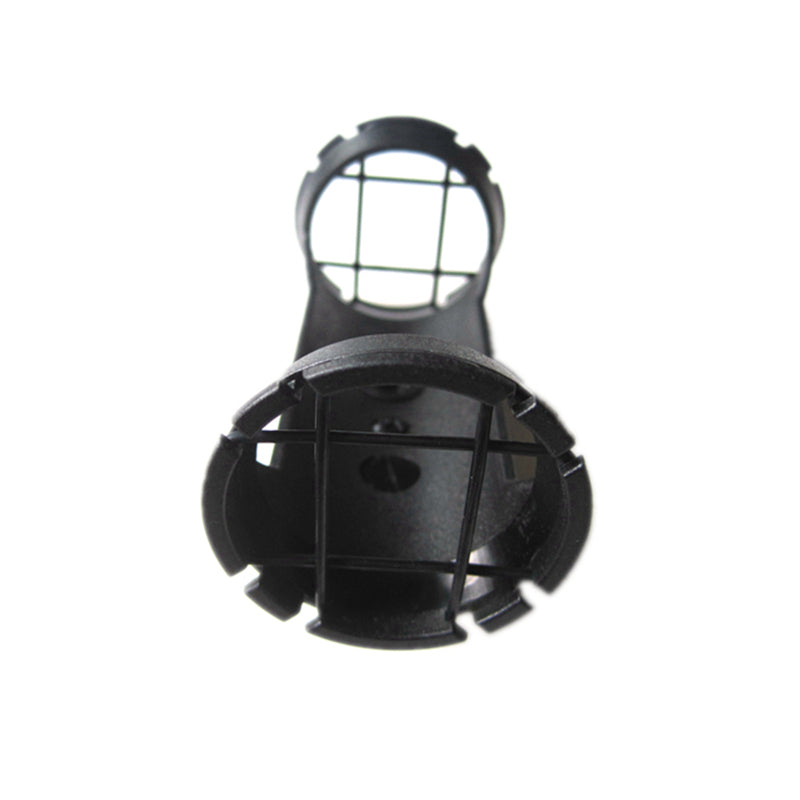 HM40C Suspension Shock Mount for Video Camera Hot Shoe Videomic Shotgun Microphone Clip Holder 12-30mm