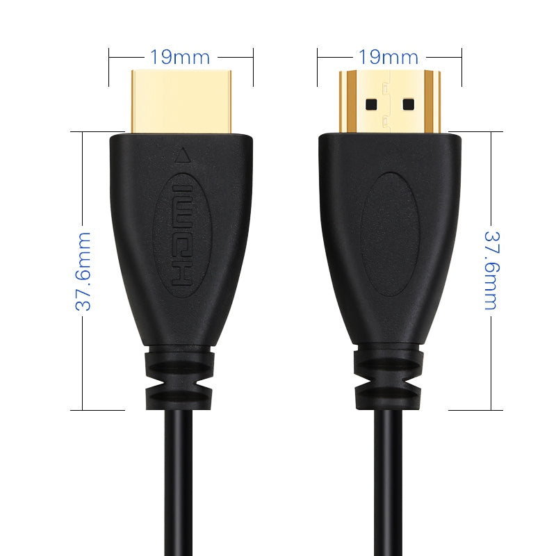 HDMI Cable 30cm-15m Video 1.4 1080P 3D Gold Plated High Speed for HD TV XBOX PS3 Computer 4K*2K