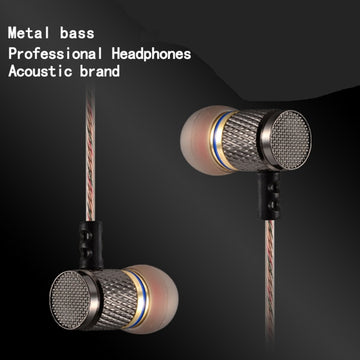 EDR1 ED2 Stereo Earphone with Microphone Earbuds In Ear Headset Bass Sound Music Earphone for Iphone Xiaomi Huawei Phones