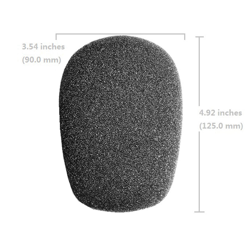 Big Foam Cover Windshield for Rode NT1-A NT1000 K2 U87 Condenser Microphone Replacement Windscreen Sponge High Density Studio