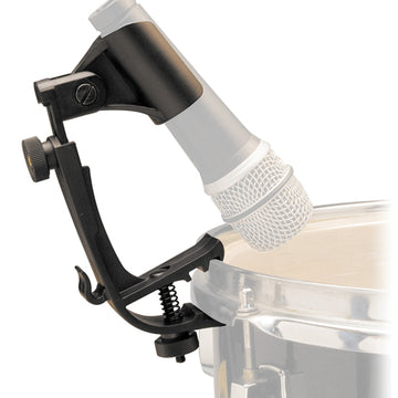 Adjustable Drum Microphone Rim Mount Clip for SM57 SM58 DMC100 HM25 Retractable Clamp Plastic