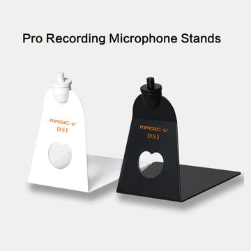 Professional Recording Microphone Stand Magic-V DS1 Shock Mount Studio Desk Table Top Metal Clip