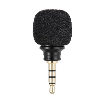3.5mm Jack Cellphone Smartphone Portable Mini Omni-Directional Mic Microphone for Recorder for iPad Apple iPhone5 6s 6 Plus