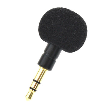 3.5mm Jack Mini Omni-Directional Mic Microphone Cellphone Smartphone for Recorder for iPad iPhone5 6s 6 Plus Portable