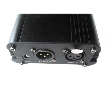 48V DC Single Phantom Power Supply Unit for Condensor Microphone Studio Pro