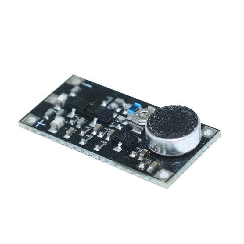 88-115MHz FM Wireless Microphone Surveillance Transmitter Module Board for Arduino Adjustable Capacitor DC 2V 9V 9mA Voltage