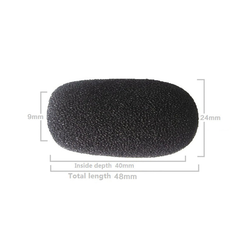 Microphone Foam Headset Lapel Windscreen Gooseneck Conference Table Bulk 10mm Professional