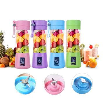 Portable Blender USB Mixer Electric Juicer Machine Smoothie Blender Mini Food Processor Personal Orange Squeezer Lemon Juicer
