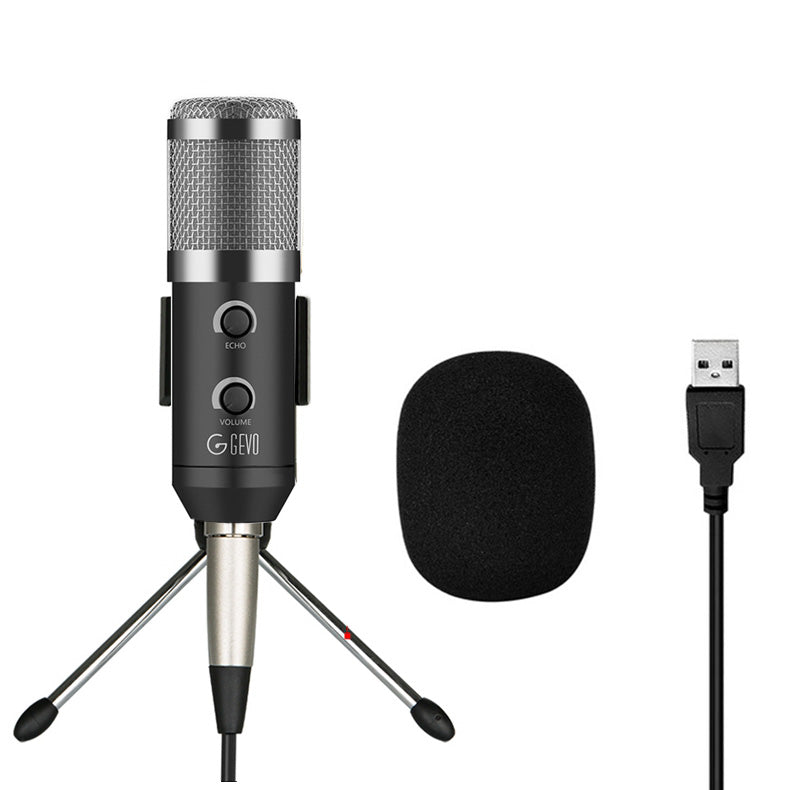 BM 900 Condenser USB Microphone Studio With Stand Tripod And Pop Filter Mic For Computer Karaoke Pc Upgraded from BM 800