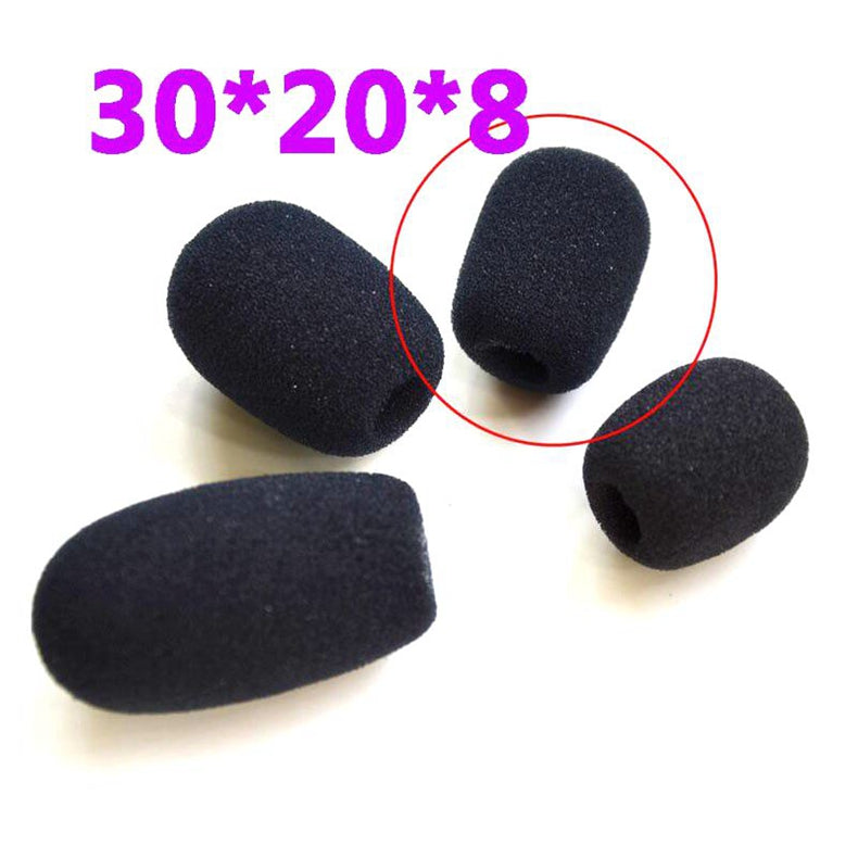 Replacement Headset Foam Microphone Cover Telephone Headset Windscreen Windshied Lavalier Gooseneck Conference Table Lapel