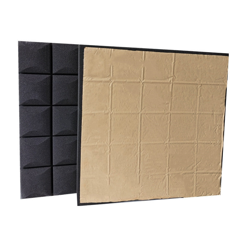 Acoustic Foam High Density Foams Panels with Sticker Panel Mushroom Sound Stop Absorption Sponge Cover Studio KTV Soundproof