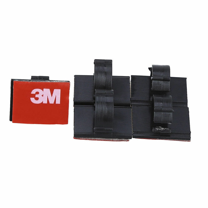 3M Self-adhesive Wire Tie Cable Clips Clamp Holder Sticker for Car Dash GPS Camera Stick