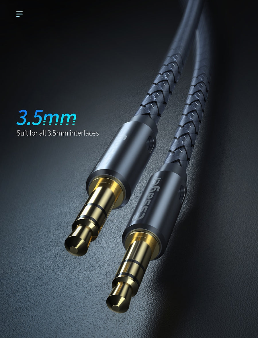 3.5mm Jack Aux Audio Cable Adapter Male Jack to Jack 3.5 mm Cord Speaker Wire for Car Headphone for Samsung Xiaomi