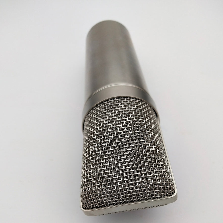 Professional Silver Mircophone Body Shell for DIY Condenser Microphone
