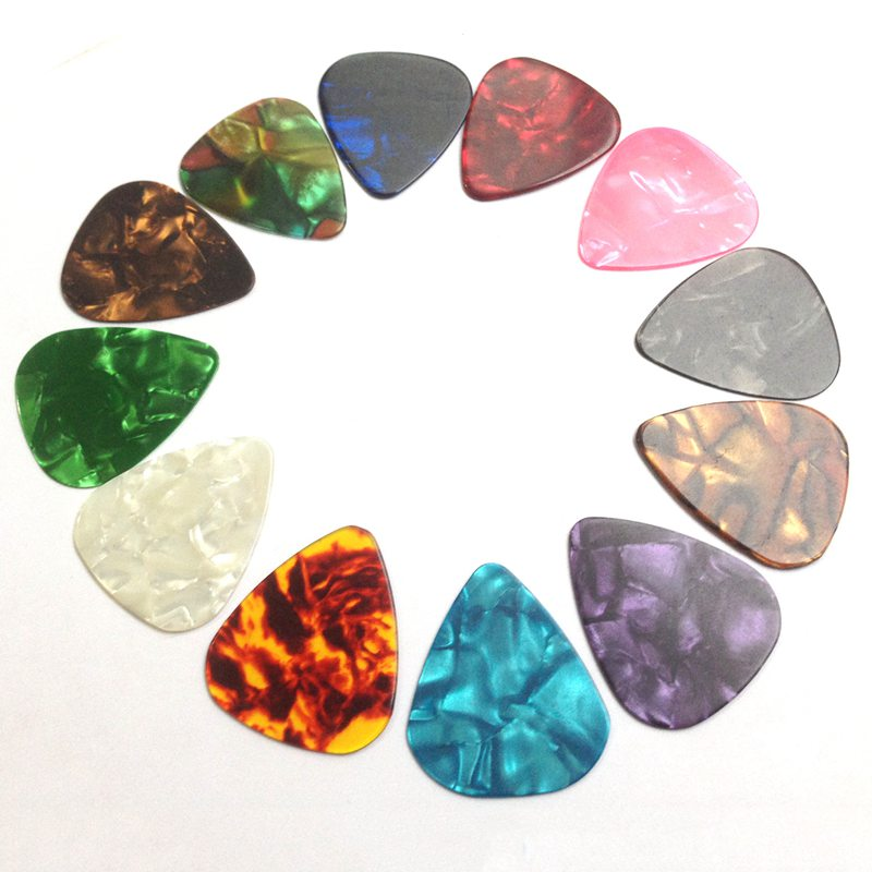 Guitar Rock Picks  Mediators for Guitar and basse Repair Maintenance Tool Accessories Luthier 3 Different Thickness