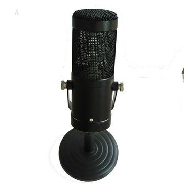 Professional Vertical Microphone Shell with Nracket for DIY  Mircophone Metal Case Body