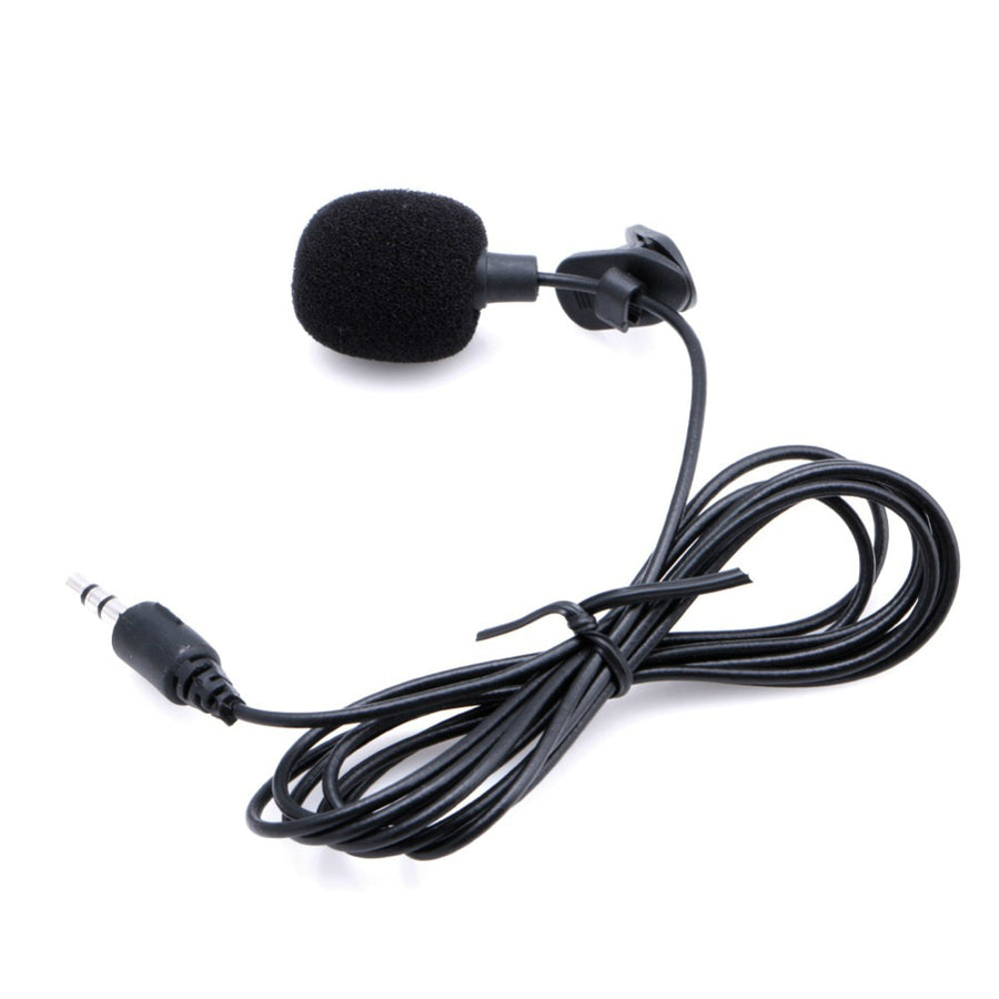 Universal Portable 3.5mm Mini Mic Jack Hands-free Clip on Lapel Microphone Hands Audio for PC Laptop Lound Speaker Computer