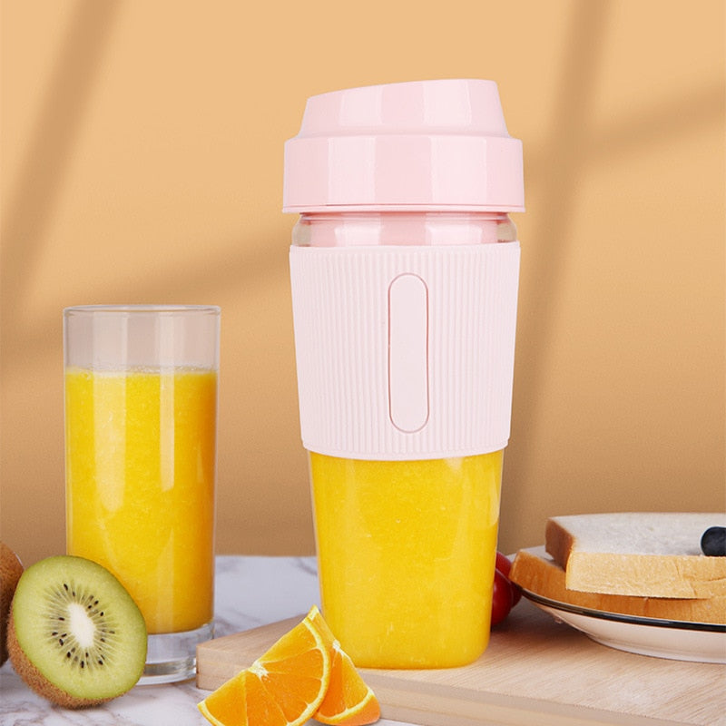 Portable Electric Mixer Juicer USB Cup Blender Electric USB Household Juicer Orange Juicer Kitchen Appliances Mini Fast Blender