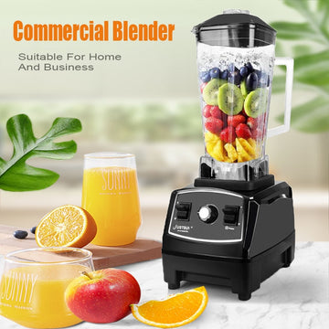 Heavy Duty 2200W Commercial Blender Professional Blender Mixer Food Processor Japan Blade Juicer Ice Smoothie Machine