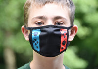 2 Sided Nintendo Switch Inspired Face Mask Video Game Kids Mask