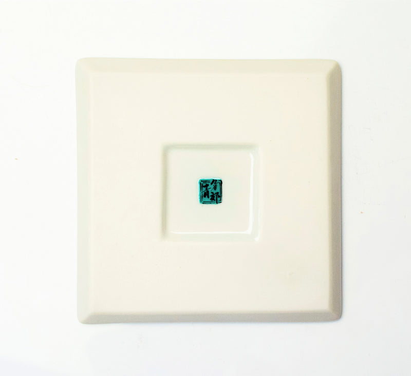 SQUARE PLATE 丸紋宝紋 SP-27