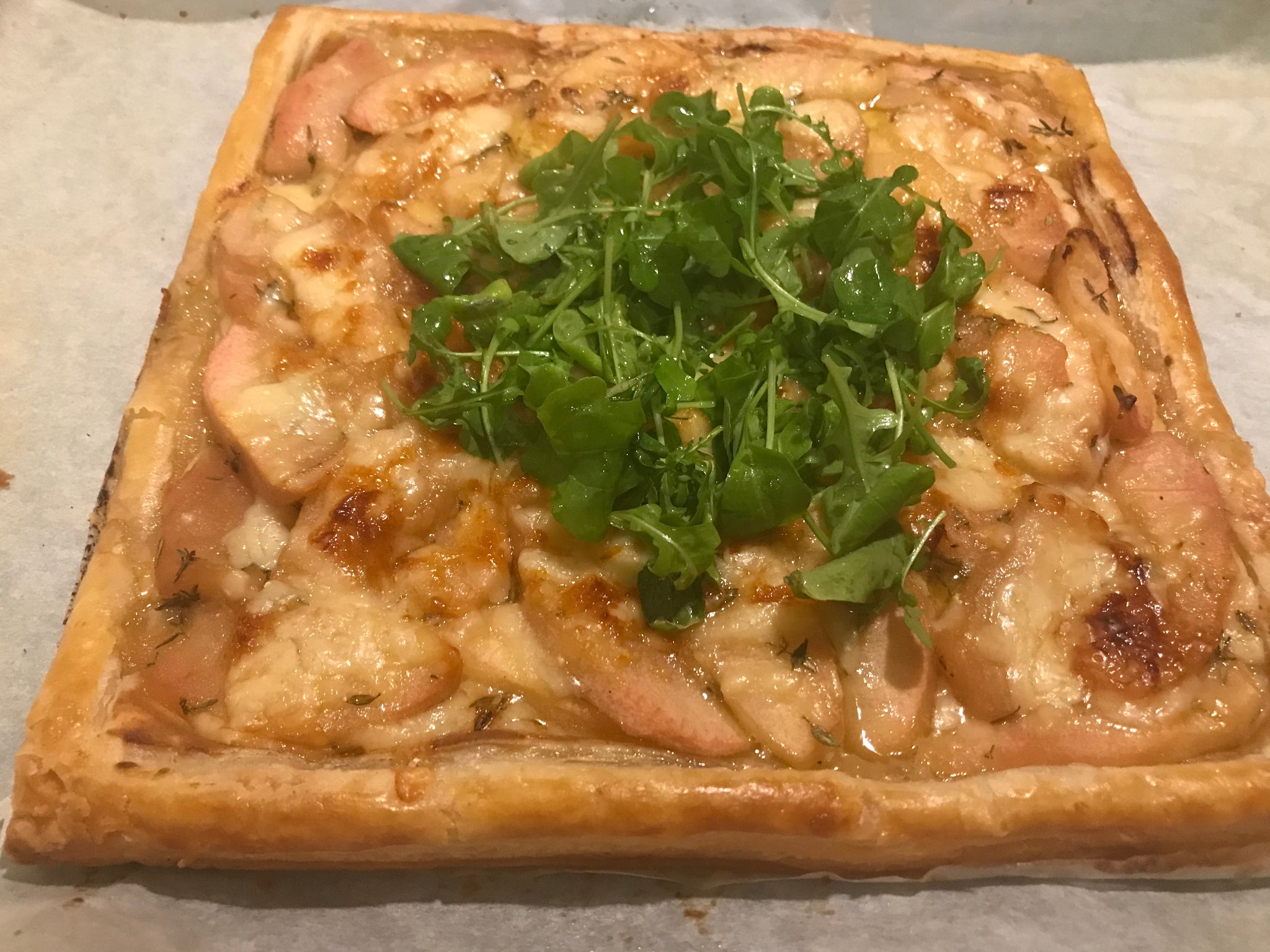 Savoury Apple Tart