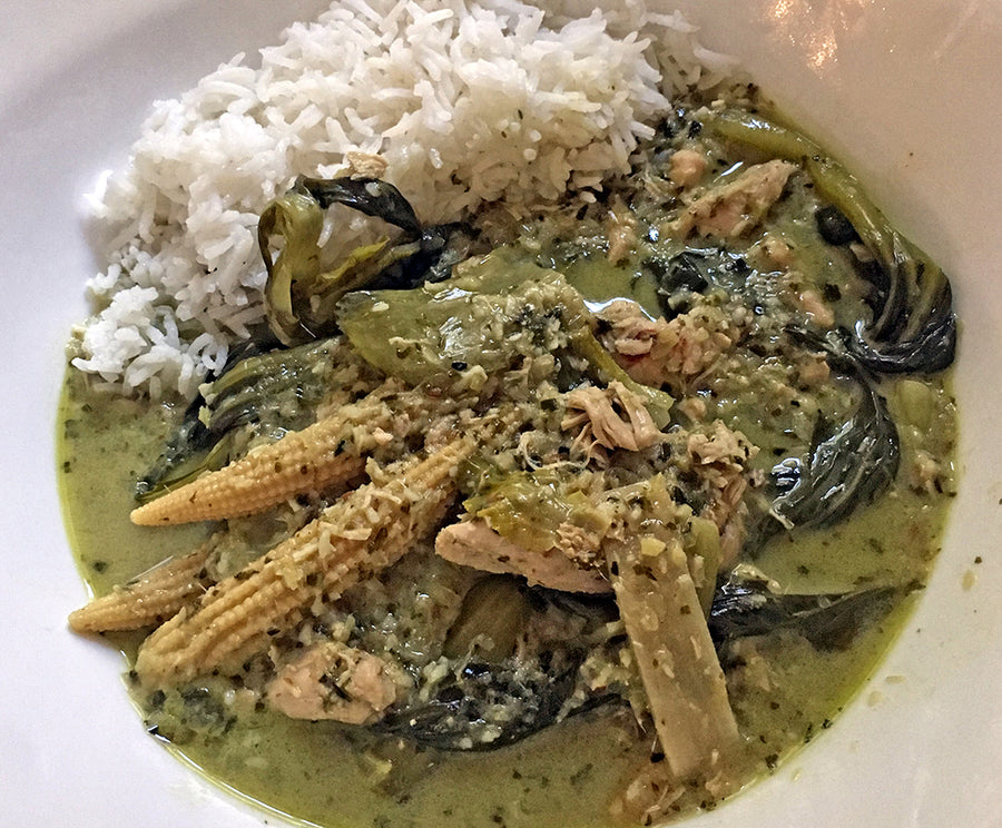 Sarah's Green Thai Curry
