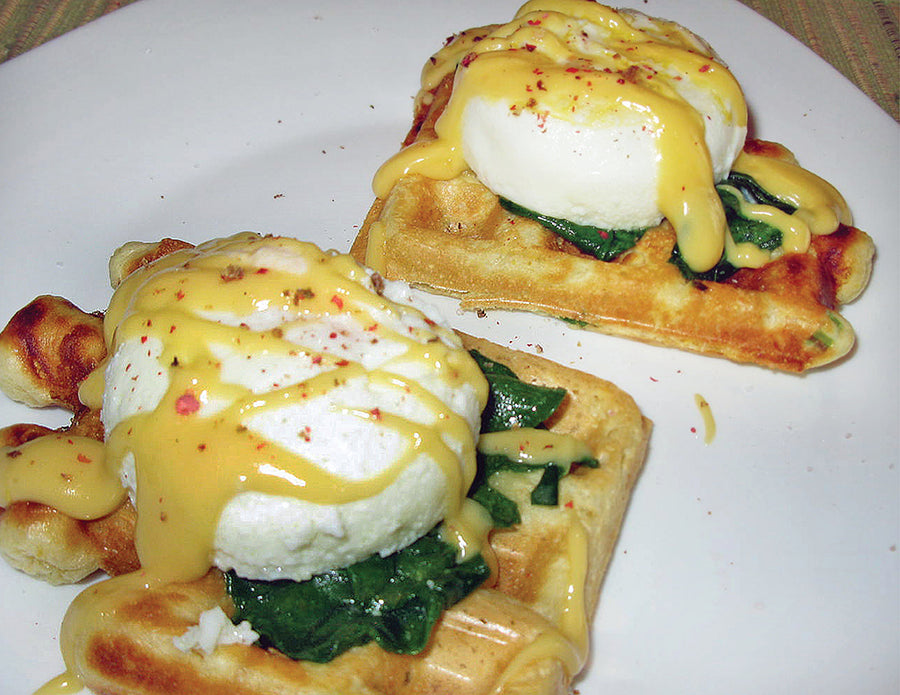 My new favourite Eggs Benedict Recipe