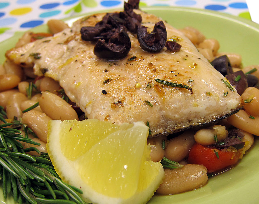 Simple Mediterranean Salmon