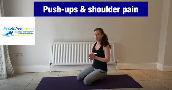 How to do push-ups without shoulder pain?