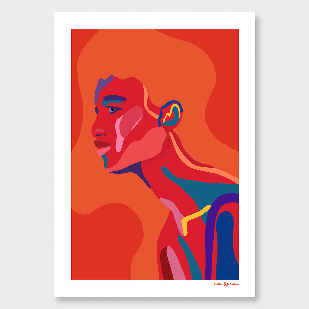 Ruby Limited Edition print A2-A1