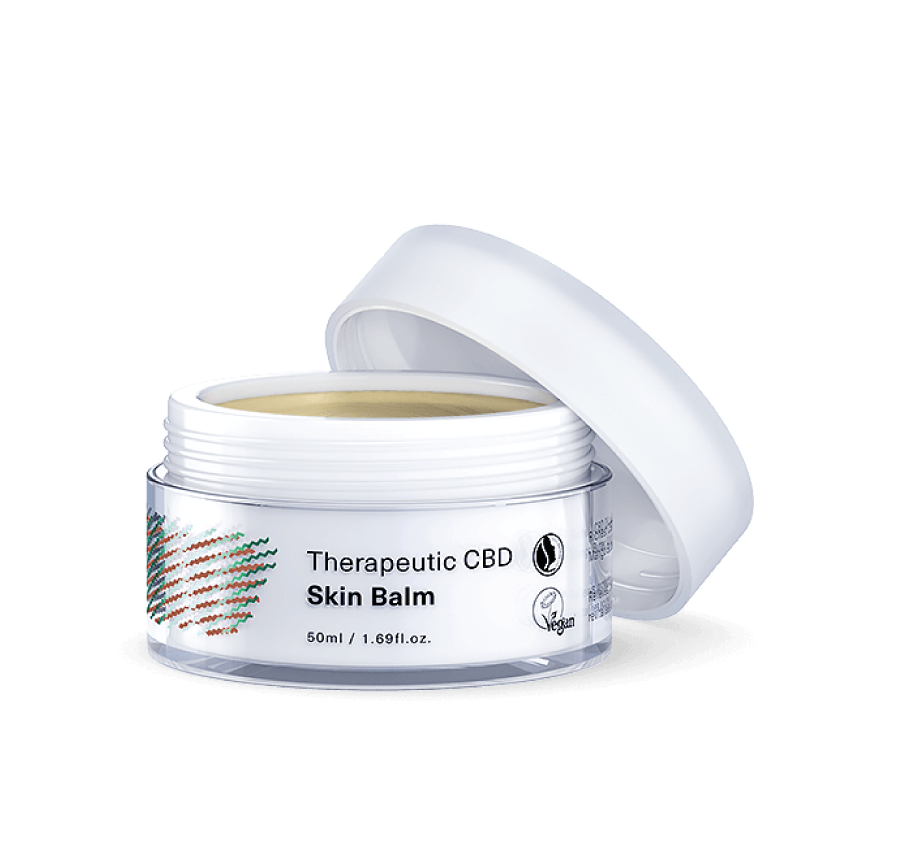 CBD therapeutic skin balm