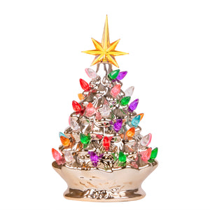 RJ-CER-CMG-S RJ Legend Christmas Mini Ceramic Tree