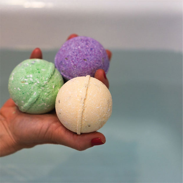 Hemp Bath Bomb - Cedarwood & Tangerine