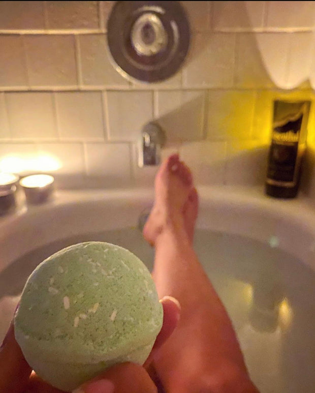 Hemp Bath Bomb - Eucalyptus & Lemongrass