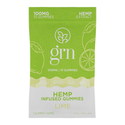 Full Spectrum Hemp Extract Gummies - Lime