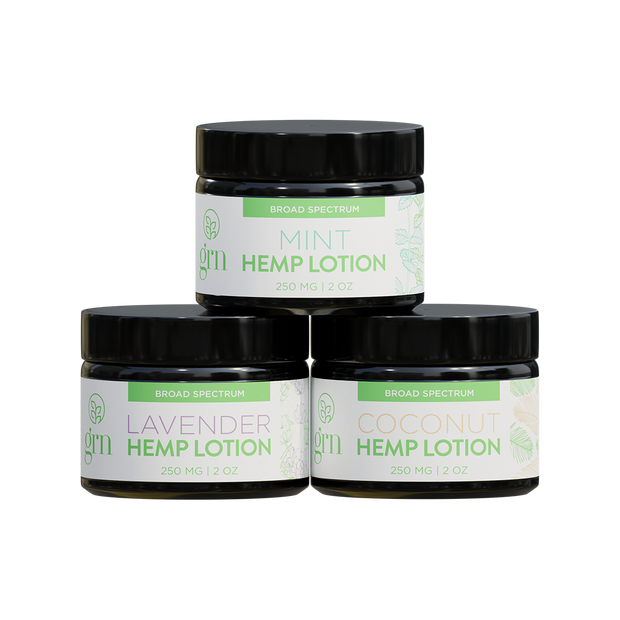 Hemp Infused Lotion 3-Pack