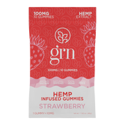 Full Spectrum Hemp Extract Gummies - Strawberry
